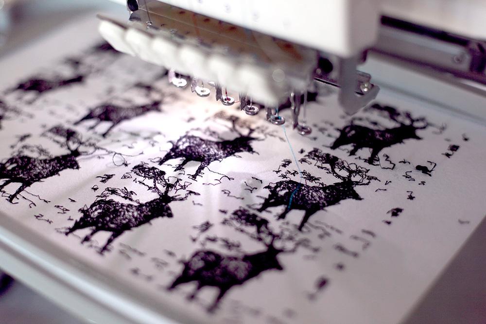 Logan McLain Multihead Stitching Textile GIFs