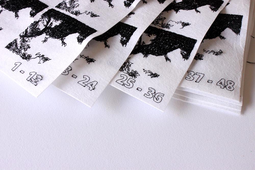 Logan McLain Deer Frames Textile GIFs