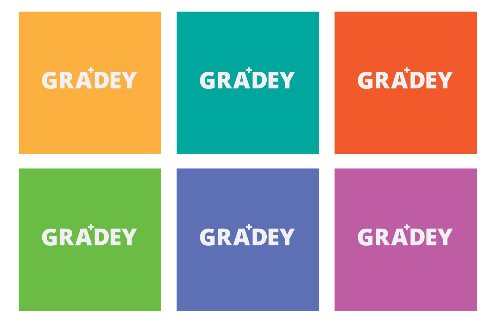 Gradey Alpha Grade Average Calculator Logo Colours
