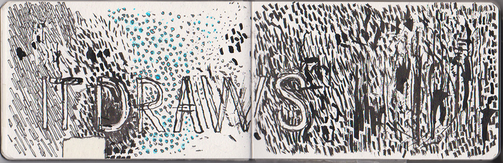 Logan McLain Artist Notebook
