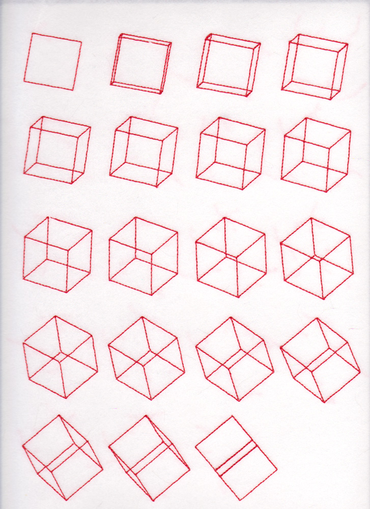Logan McLain - Cube Series Stitched